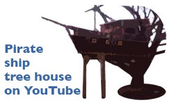 Pirate ship video